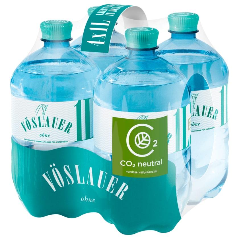 Vöslauer Mineralwasser Still 4x1l
