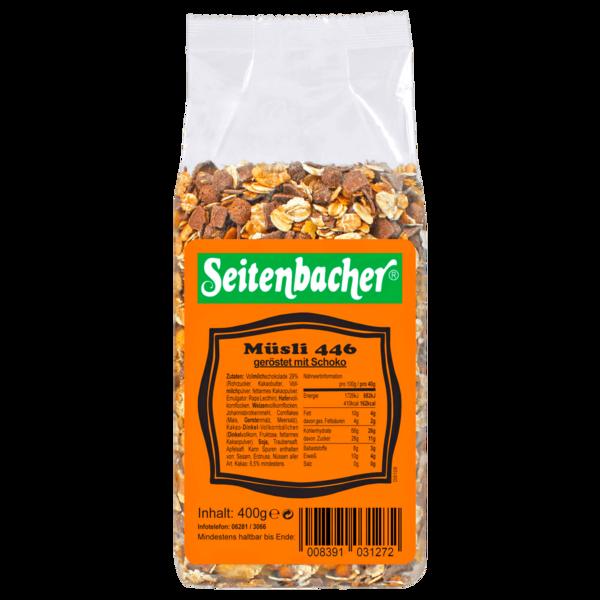 Seitenbacher Müsli 446 geröstet mit Schoko 400g