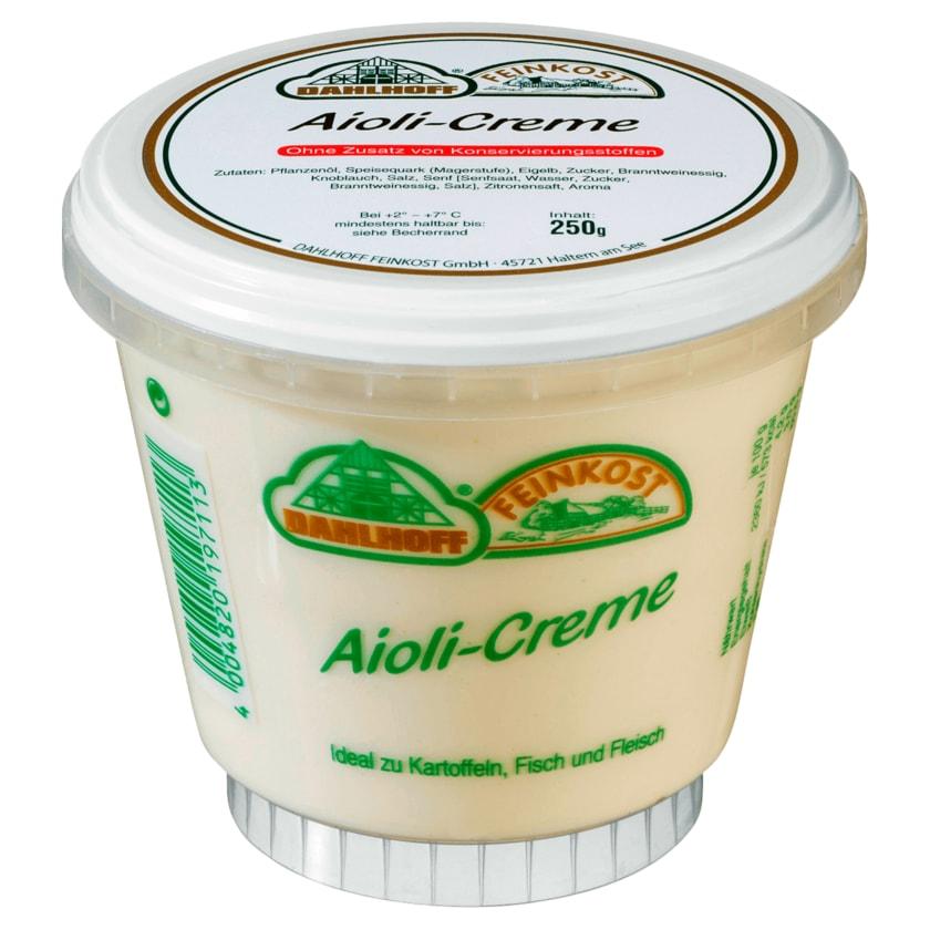 Dahlhoff Feinkost Aioli-Creme 250g