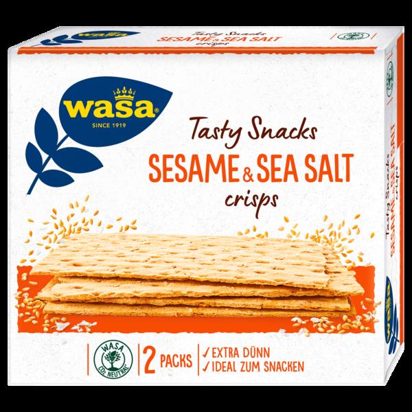 Wasa Knäckebrot Delicate Crisp Sesam & Meersalz 190g