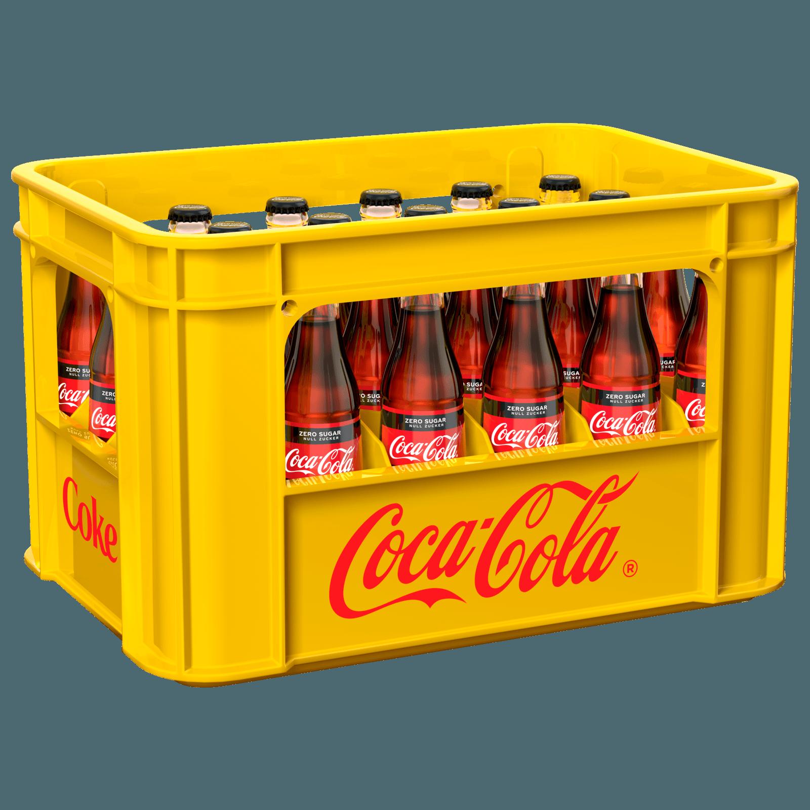 Coca Cola Zero Sugar 24x033l