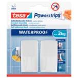 Tesa Haken Waterproof Weiß 2 Stück