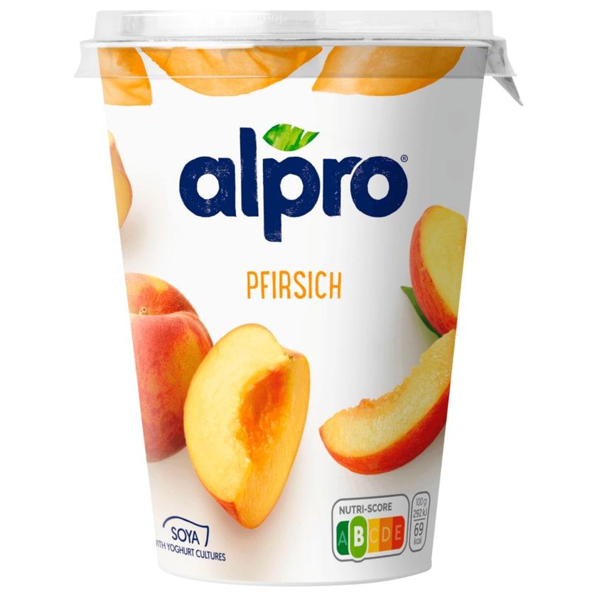 Alpro Soja-Joghurtalternative Pfirsich vegan 500g