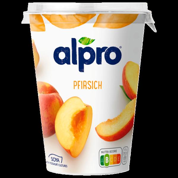 Alpro Soja-Joghurtalternative Pfirsich 500g