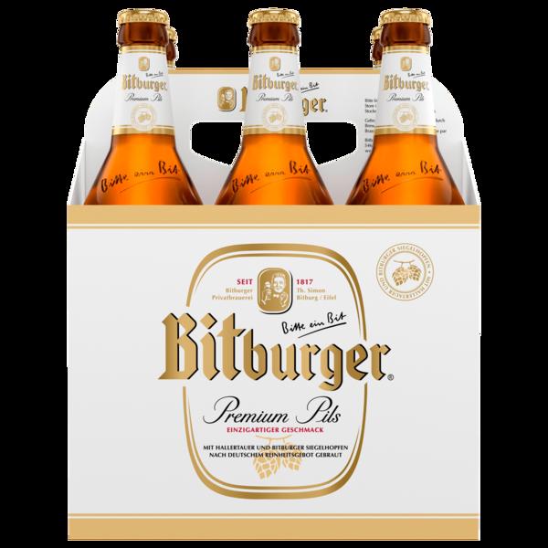 Bitburger Pils Open Basket 6x0,5l