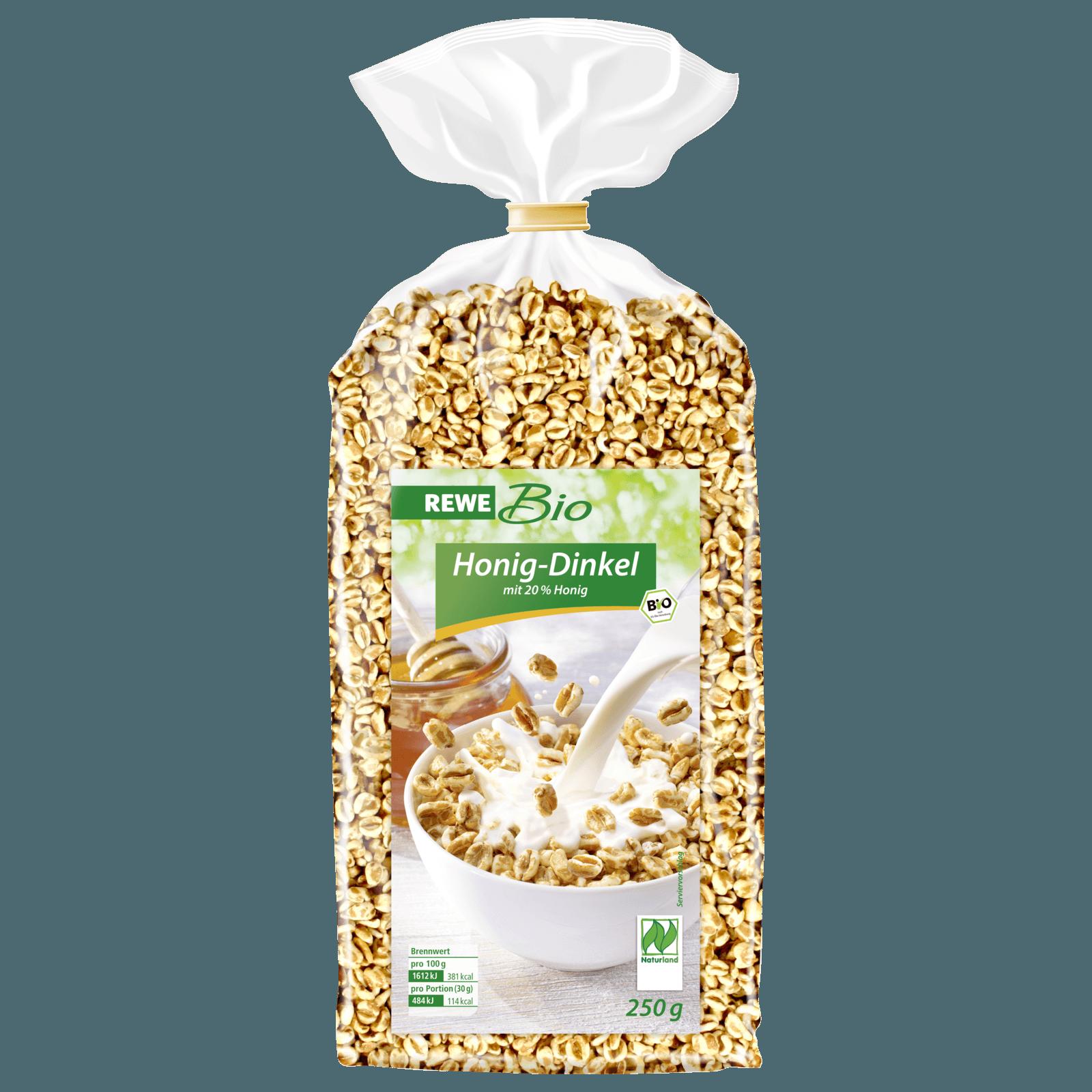 REWE Bio Honig-Dinkel-Pops 250g