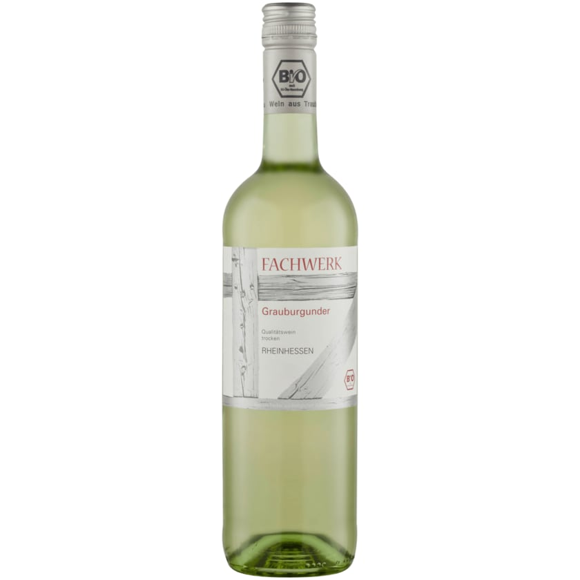 Fachwerk Weißwein Bio Grauburgunder trocken 0,75l