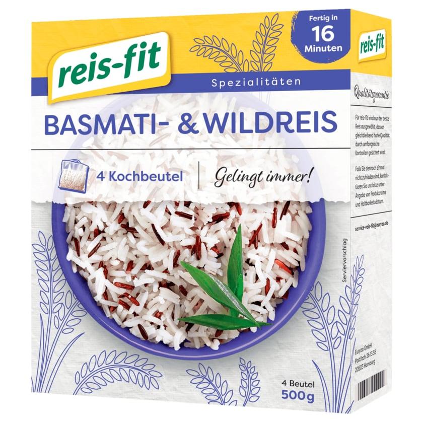 Reis-fit Basmati- & Wildreis 500g