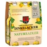Dinkelacker Natur Radler 6x0,33l