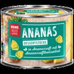 REWE Beste Wahl Ananasstücke 142g