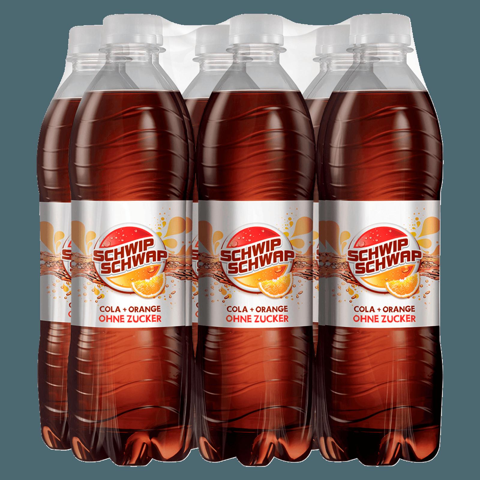 Schwip Schwap Colamix ohne Zucker 6x0,5l