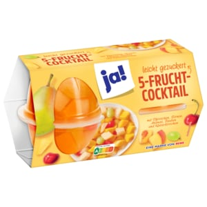 ja! Fruchtcocktail 4x70g