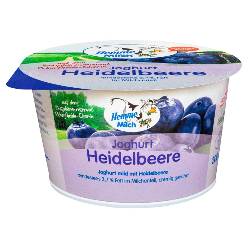 Hemme Milch Joghurt Heidelbeere 200g