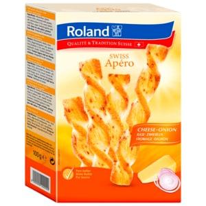Roland Swiss Apero Käse/Zwiebel 100g
