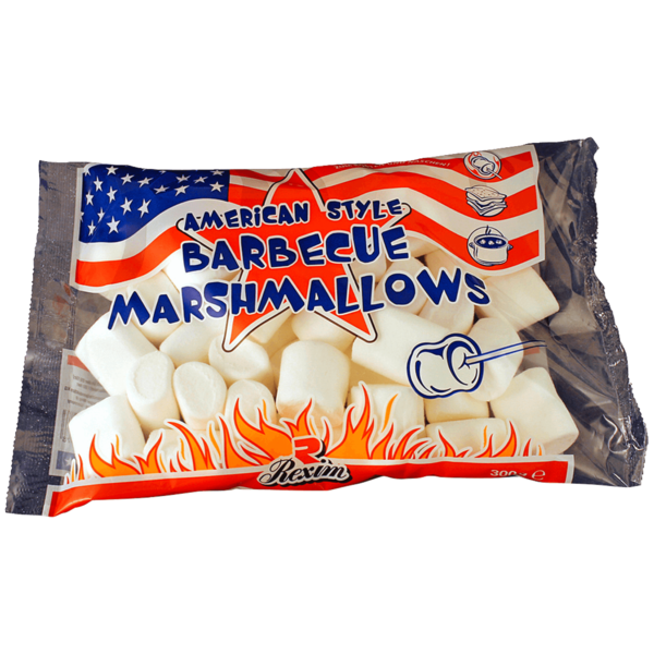 Rexim BBQ Marshmallows 300g