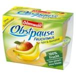Odenwald Obstpause Fruchtmus Apfel & Banane 4x100g