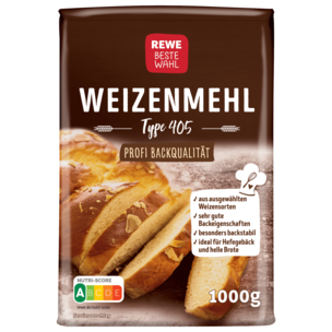 REWE Beste Wahl Weizenmehl Type 405 1kg