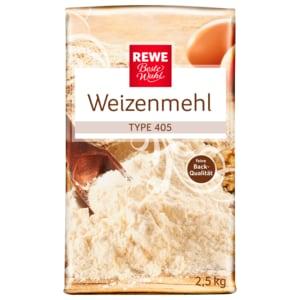 REWE Beste Wahl Weizenmehl Type 405 2,5kg