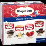 Häagen-Dazs Classic Selection 4x100ml