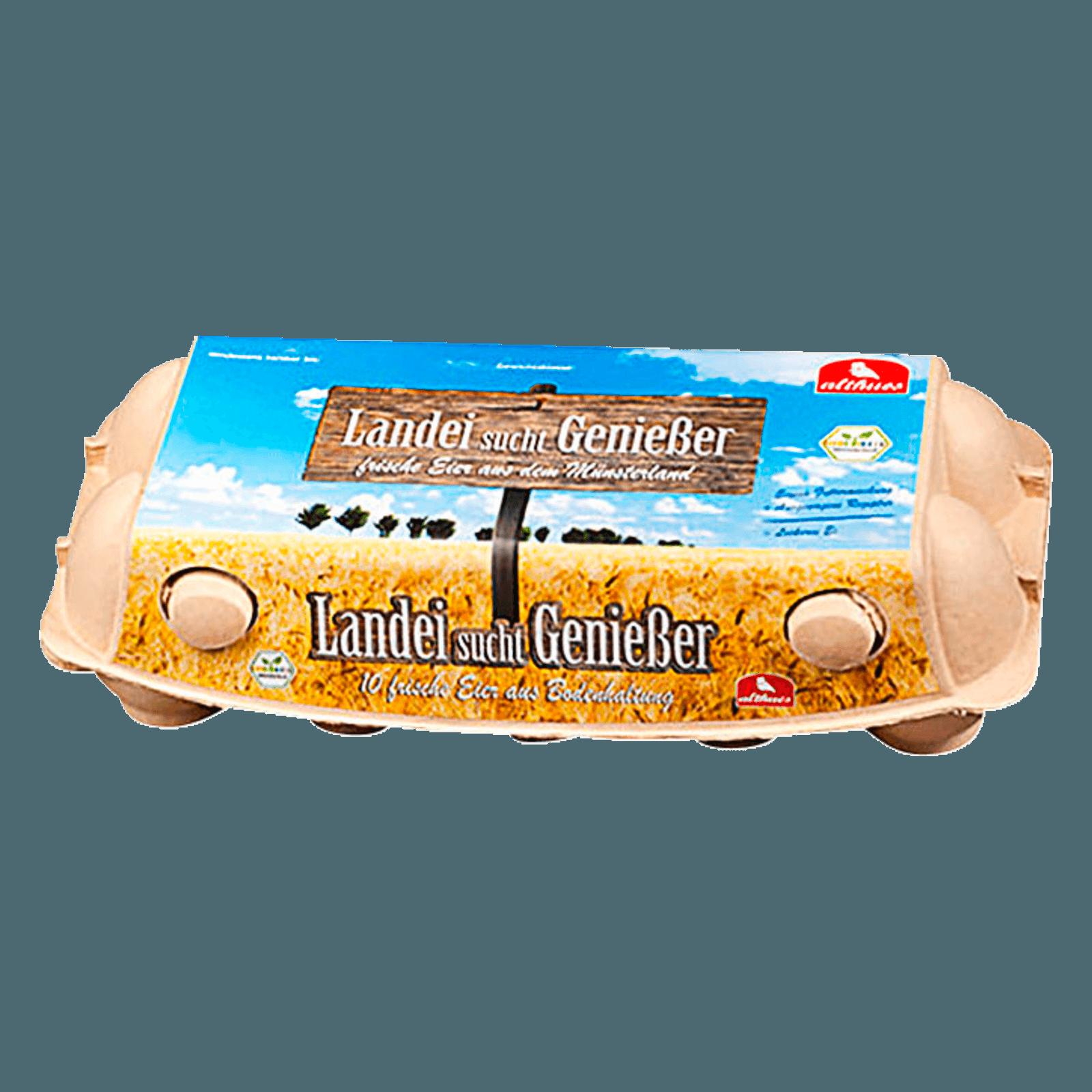 Althues Eier aus Bodenhaltung 10 Stück