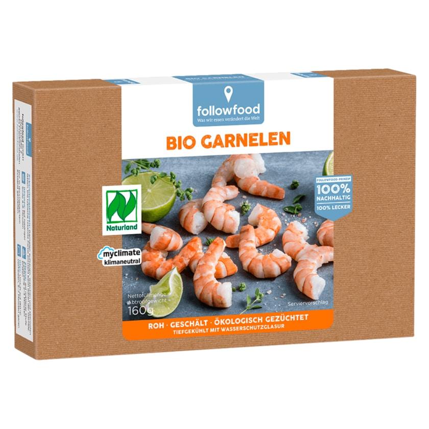 followfish Bio-Garnelen 160g