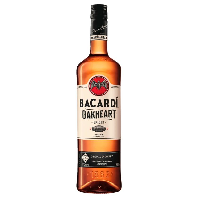 Bacardi Oakheart Spiced Rumspirituose 0,7l