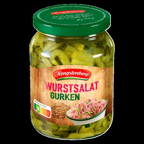 Hengstenberg Wurstsalat-Gurken 185g