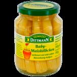 Feinkost Dittmann Babymaiskölbchen in Essig mit Honig 190g