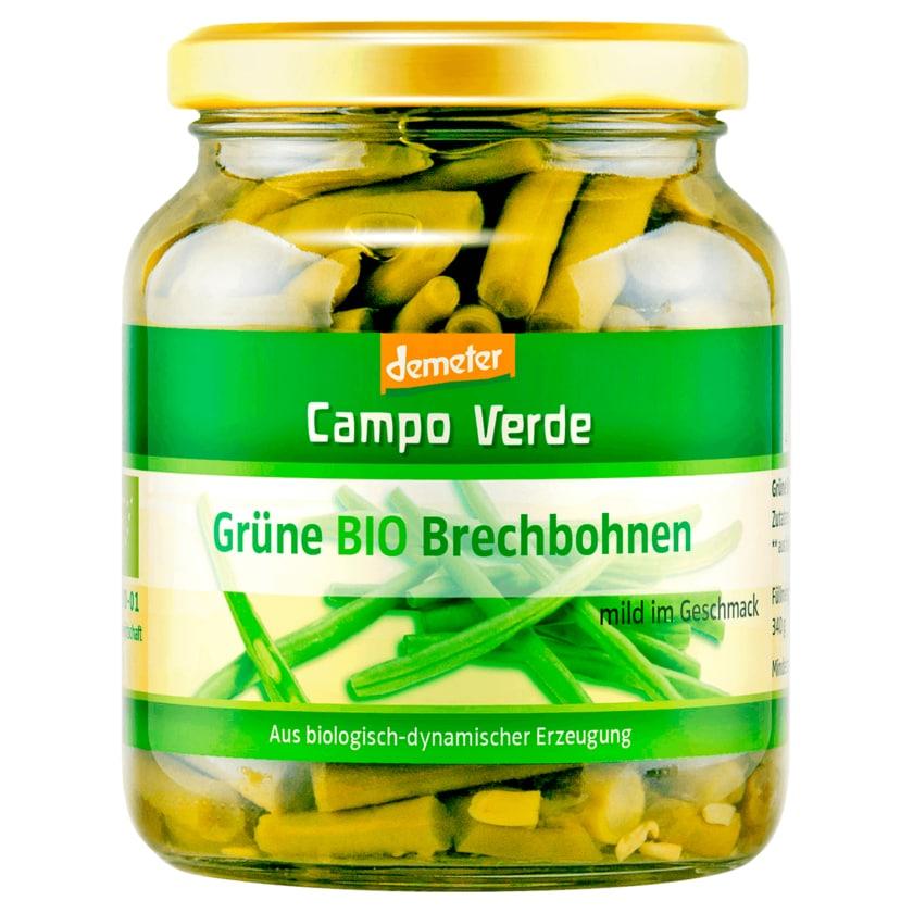 Campo Verde Demeter grüne Bio Brechbohnen 195g
