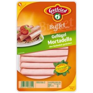 """Gutfried Geflügel-Mortadella """"Buffet"""" 80g"""
