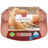 REWE Beste Wahl Eier aus Bodenhaltung XL 6 Stück