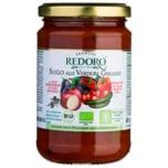 Redoro bio Tomaten Sugo alle verdure grigliate 280g
