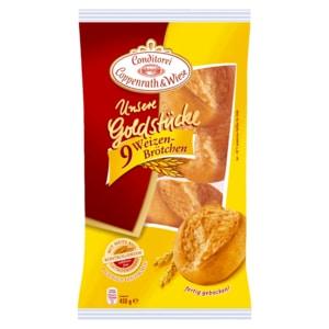 Conditorei Coppenrath & Wiese Unsere Goldstücke Weizenbrötchen 450g, 9 Stück