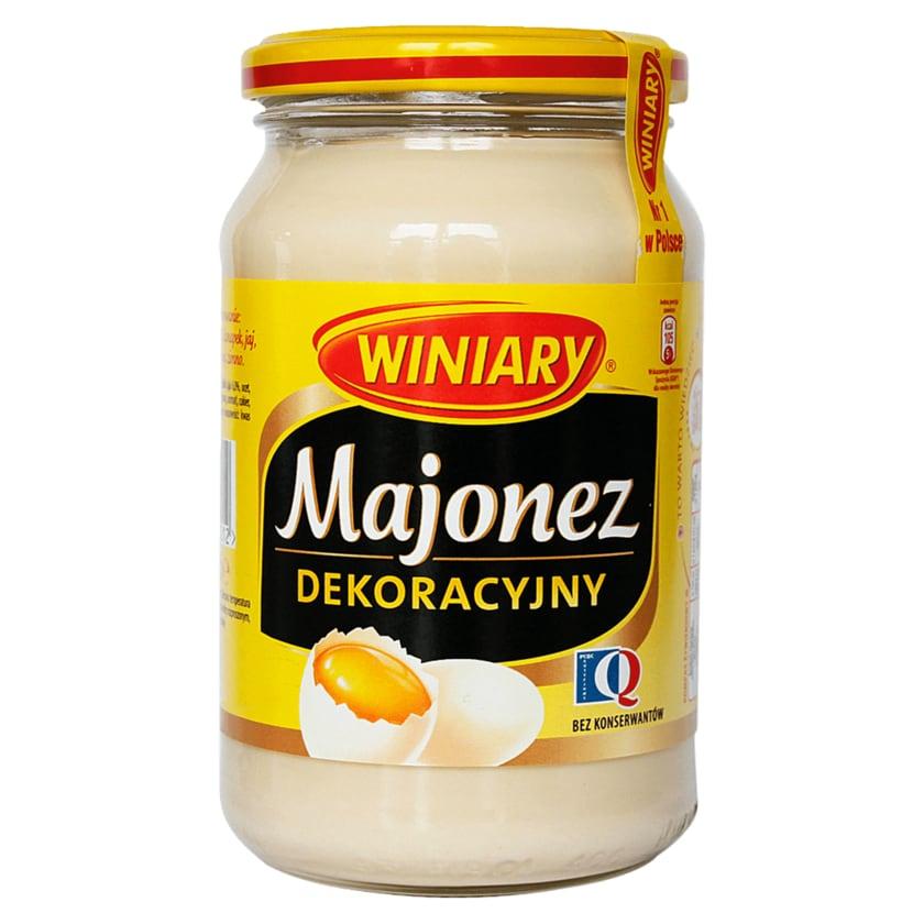 Winiary Mayonnaise mit 80% Pflanzenöl 400ml