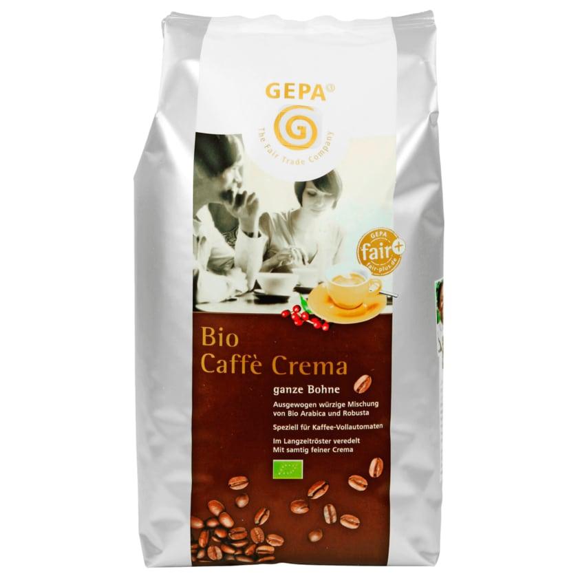 Gepa Bio Kaffee Crema ganze Bohne 1kg
