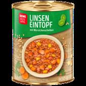 REWE Beste Wahl Linsen-Eintopf 400g