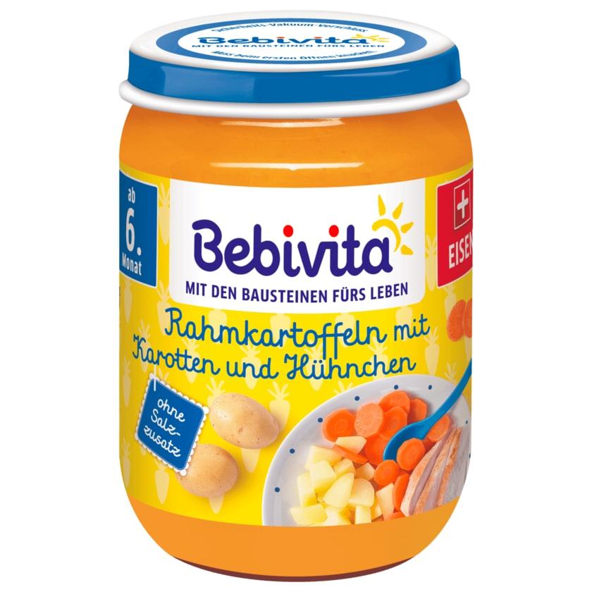 Bebivita Rahmkartoffeln mit Karotten und Hühnchen 190g