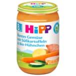 Hipp Buntes Gemüse mit Süßkartoffeln & Bio-Hühnchen 220g