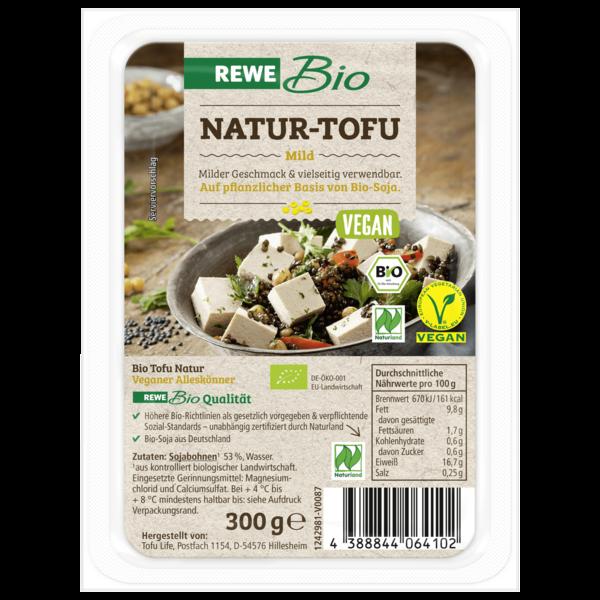 REWE Bio Tofu Natur vegan 300g