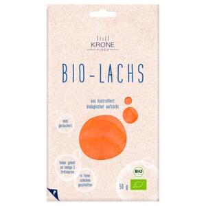 Krone Fisch Bio-Räucherlachs 50g