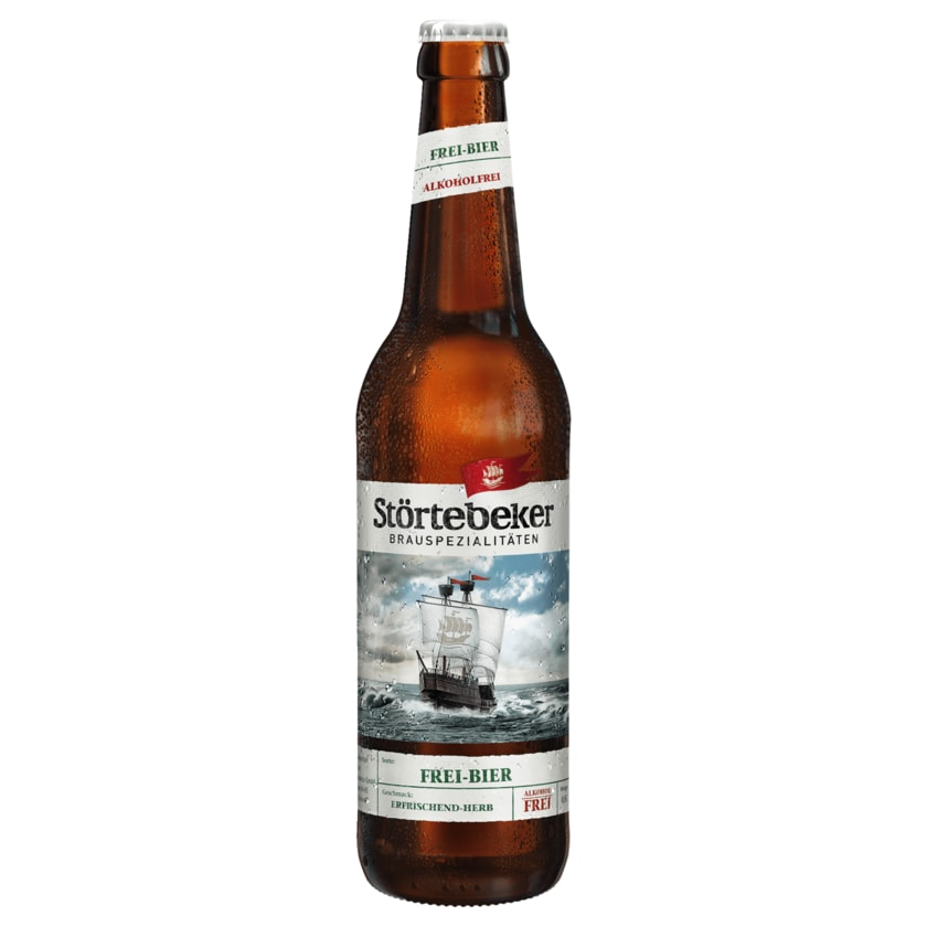Störtebeker Bio Frei-Bier alkoholfrei 0,5l