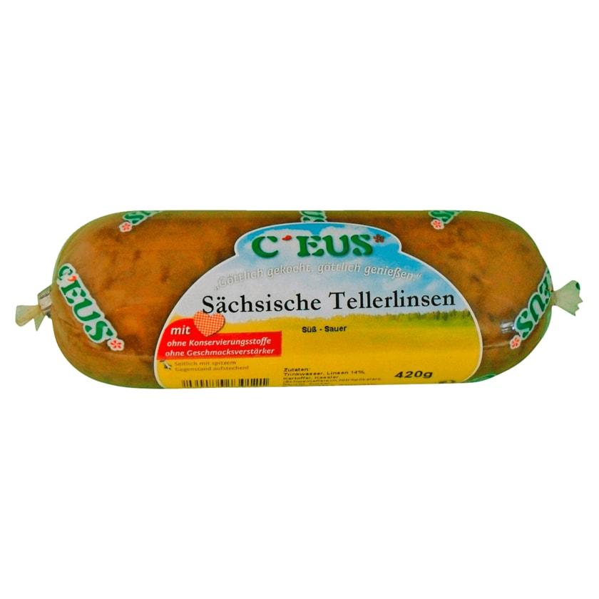Ceus Sächsische Tellerlinsen 420g