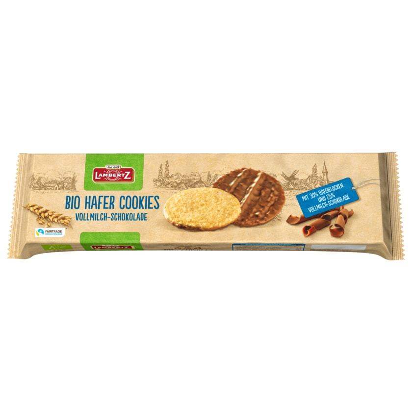 Lambertz Bio Hafer Cookies 200g