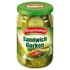 Hengstenberg Sandwich-Gurken kräuterwürzig 185g