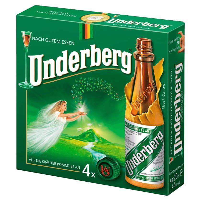 Underberg 4x20ml