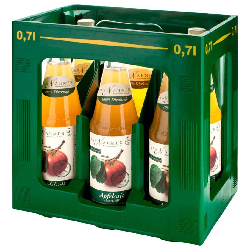 Van Nahmen Apfelsaft naturtrüb 6x0,7l