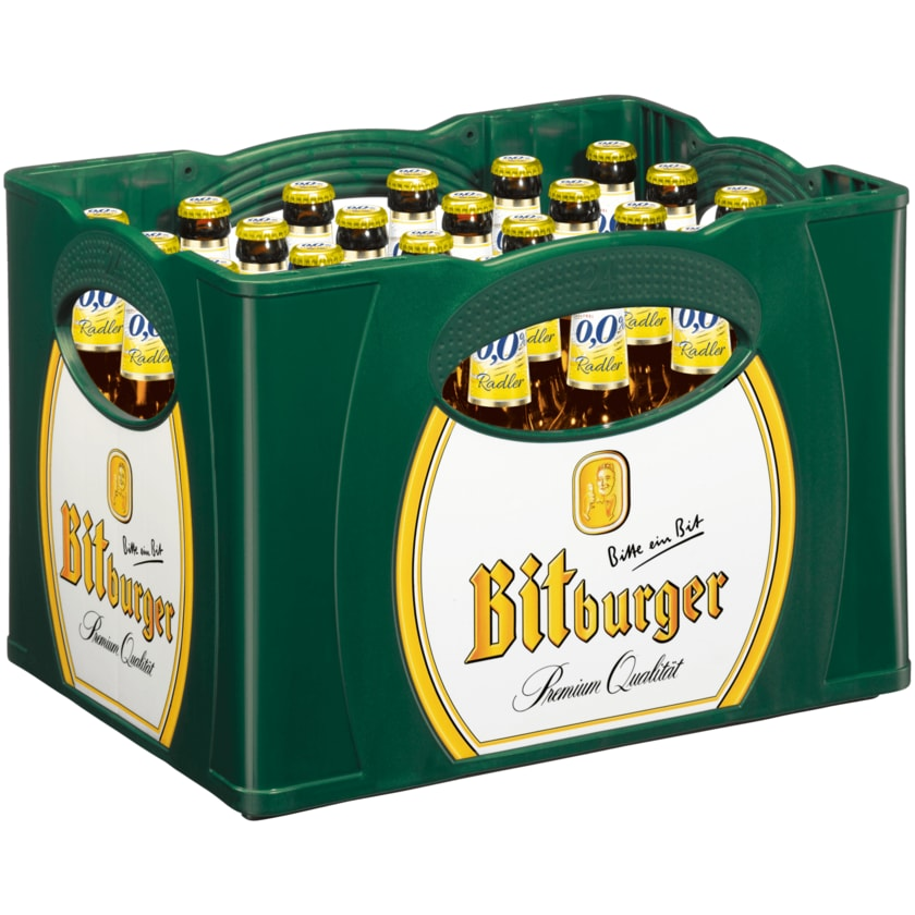 Bitburger Radler alkoholfrei 24x0,33l