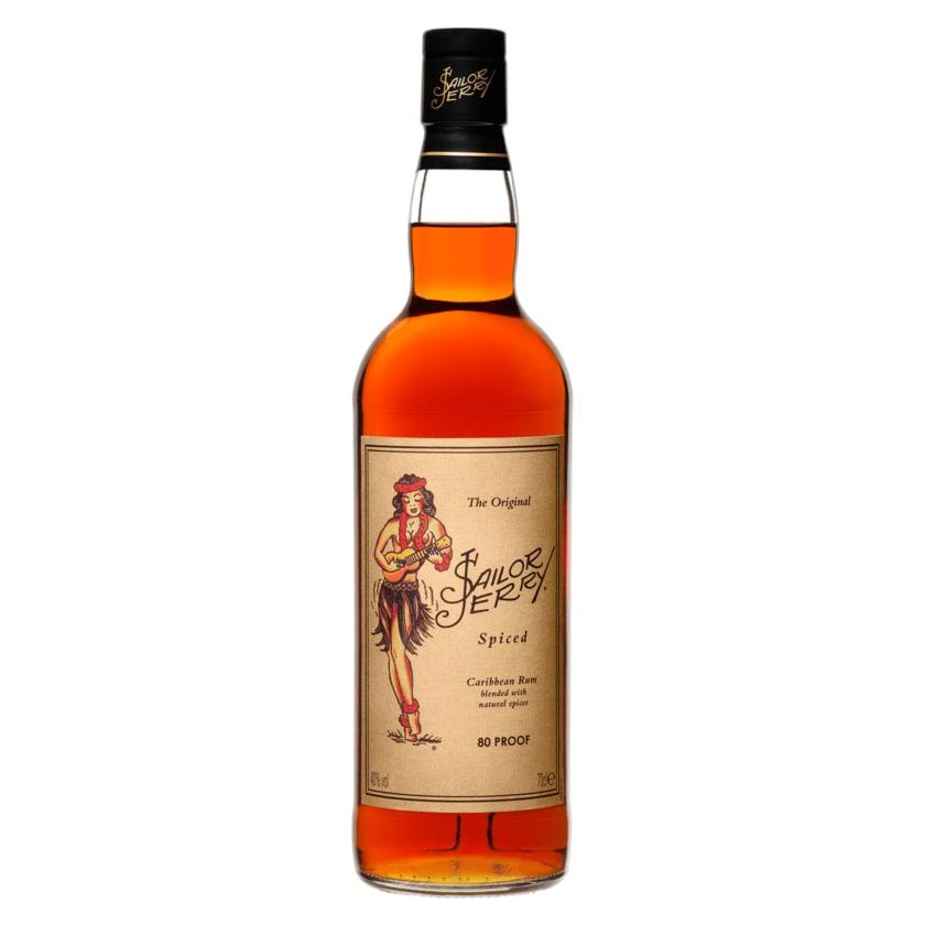 Sailor Jerry Caribbean Rum spiced 0,7l