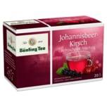 Bünting Tee Johannisbeer-Kirsch 50g, 20 Beutel