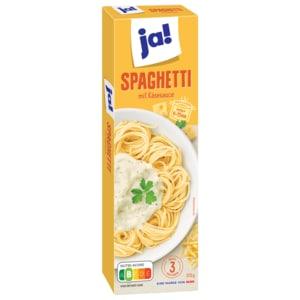 ja! Spaghettigericht Käse-Sauce 315g